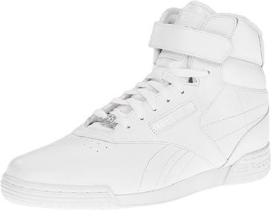 Reebok Exofit Hi White Mens Trainers Size 9.5 UK  Amazon.co.uk ... b656884b8