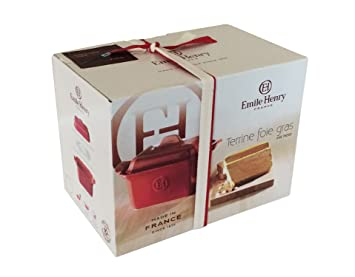 emile henry 119860 coffret cadeau foie gras terrine, presse ... - Box Cadeau Cuisine