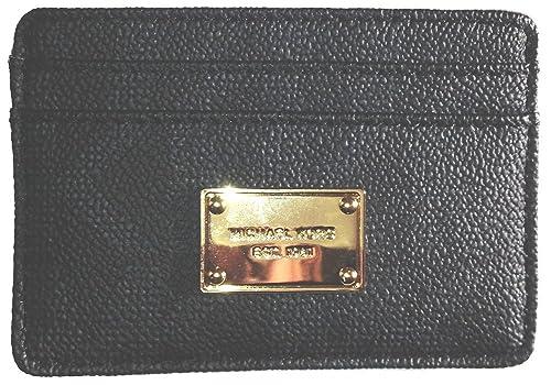 Michael Michael Kors Tema Tarjeta Caso MK Firma PVC: Amazon ...