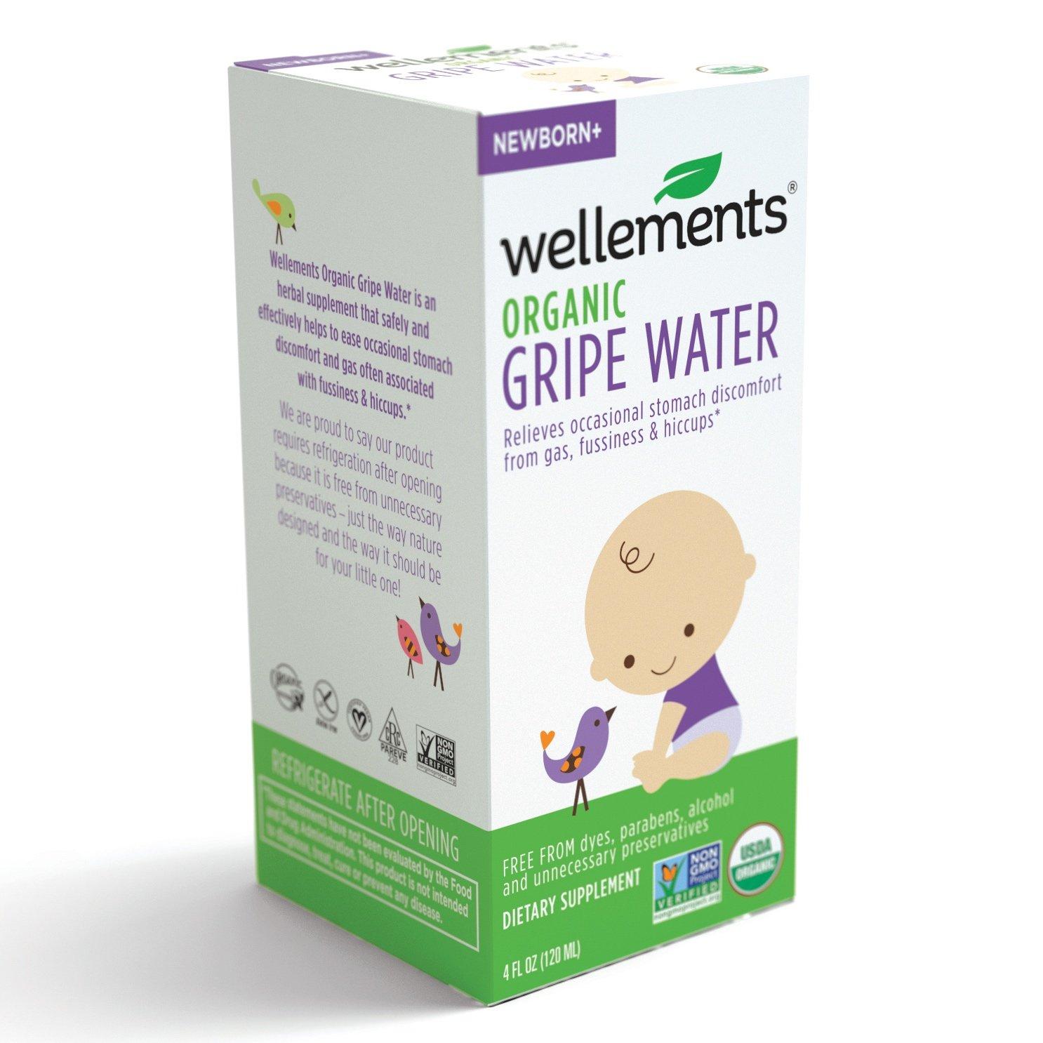 海外直送肘 Wellements Childrens Gripe Water For Colic, 4 oz B000GCHOEW
