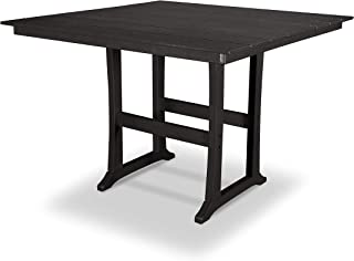 product image for Trex Outdoor Furniture Tables Bar Table, Charcoal Black
