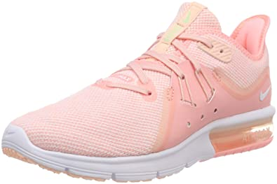 first rate 08360 4f63b Nike WMNS Air Max Sequent 3, Chaussures de Running Compétition Femme,  Multicolore (Pink