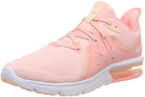 newest 644e3 16c6f Nike Air MAX Sequent 3, Zapatillas de Running para Mujer Amazon.es Zapatos  y complementos