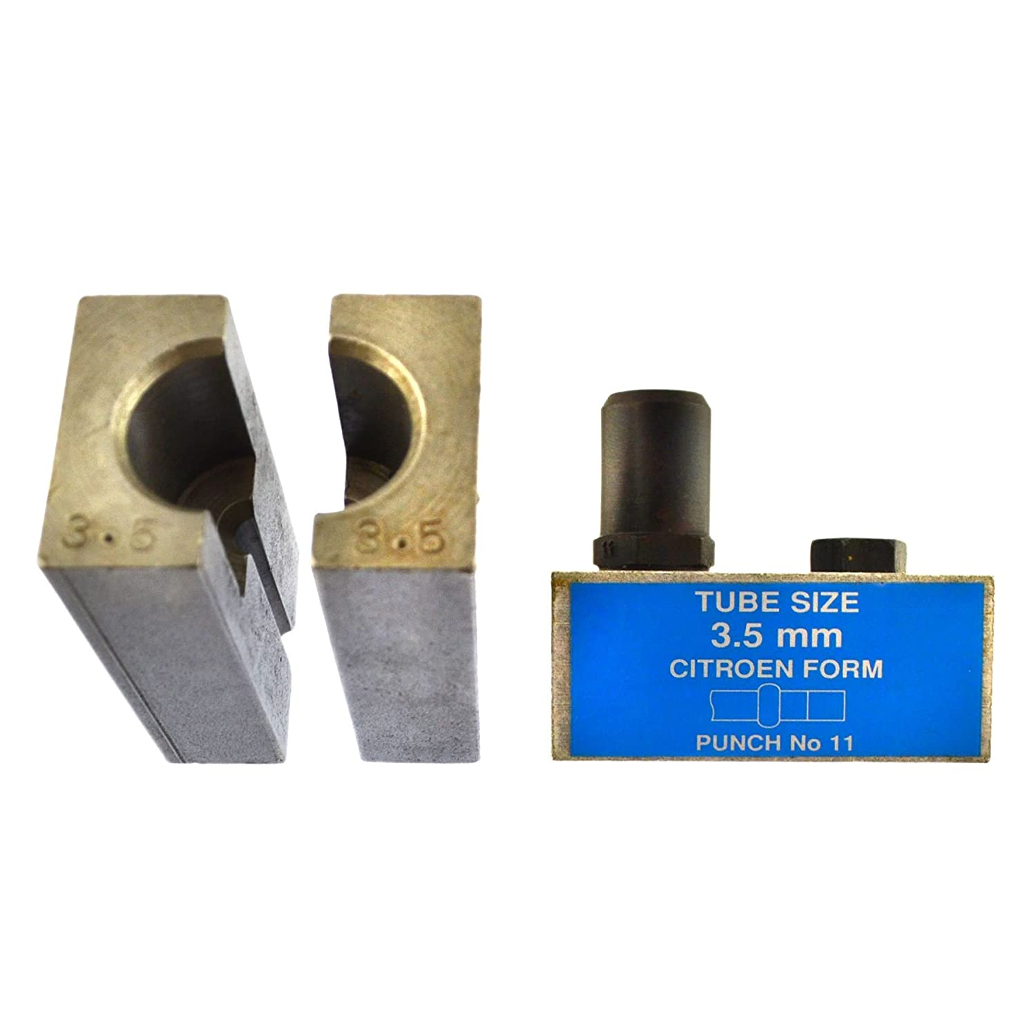 AB Tools-Bond 3.5mm Citroen Brake Pipe Flaring Flare Tool Punch and Die Single//Double FL45