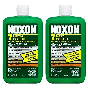 Noxon 7 Metal Polish Cleaner 12 Oz, 2 Pack