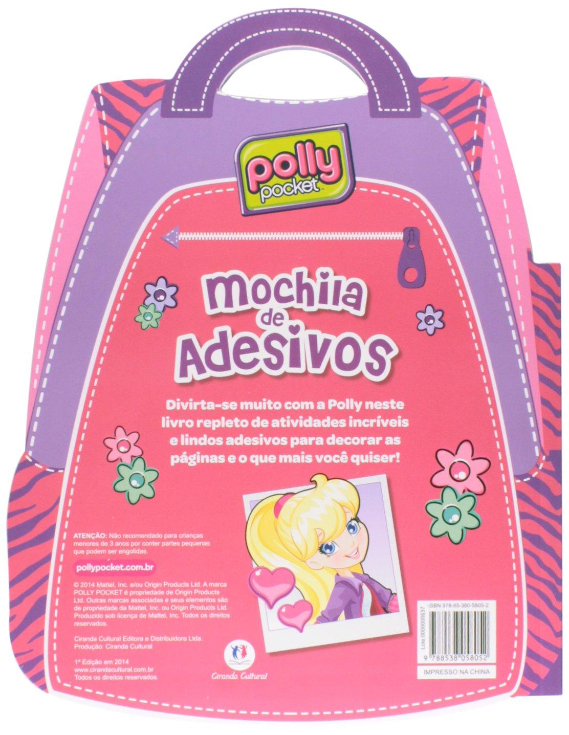 Polly Mochila de Adesivos: Ciranda Cultural: 9788538058052: Amazon.com: Books