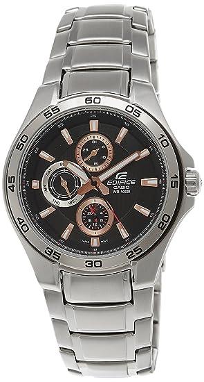 e8db66b622b8 CASIO Edifice EF-335D-4A1VEF - Reloj de Caballero de Cuarzo