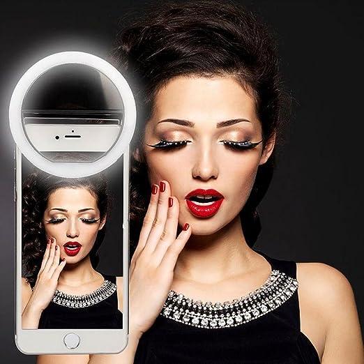 75 opinioni per Mindkoo Rosa Selfie Luce Anello Flash Macro Ring Light Portatile LED Esterno