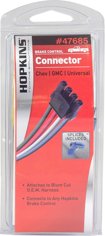 Hopkins 47685 Universal Brake Control Connector Hopkins Manufacturing HOP:47685