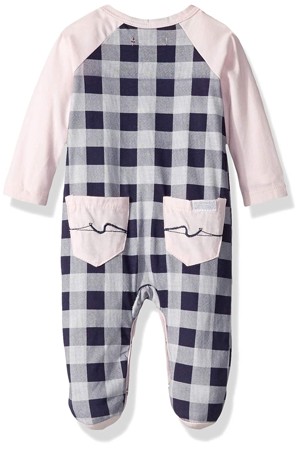 7 For All Mankind Baby Girls Footie