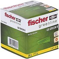 fischer GB GREEN 8 - Gasbetonpluggen van min. 50% hernieuwbare grondstoffen voor het bevestigen van brievenbussystemen…