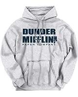 Brisco Brands Dunder Mifflin Paper Company Shirt Office Jim Pam Dwight Cool Hoodie Sweatshirt