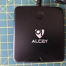 Lector De Tarjeta Inteligente Alcey CAC USB Acceso Común: Amazon.es: Informática