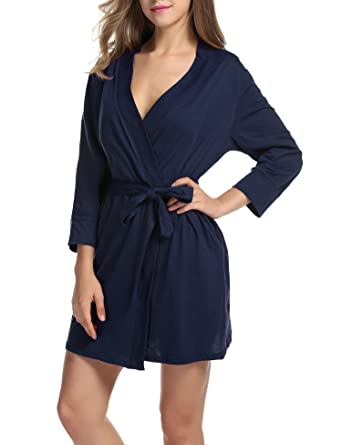 Chambre Robe Pyjama De Bain Unibelle Kimono Manche 34 Peignoir wkNX08OnP