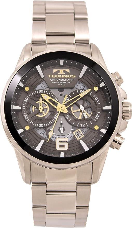 [テクノス] 腕時計 T8A32SE メンズ シルバー