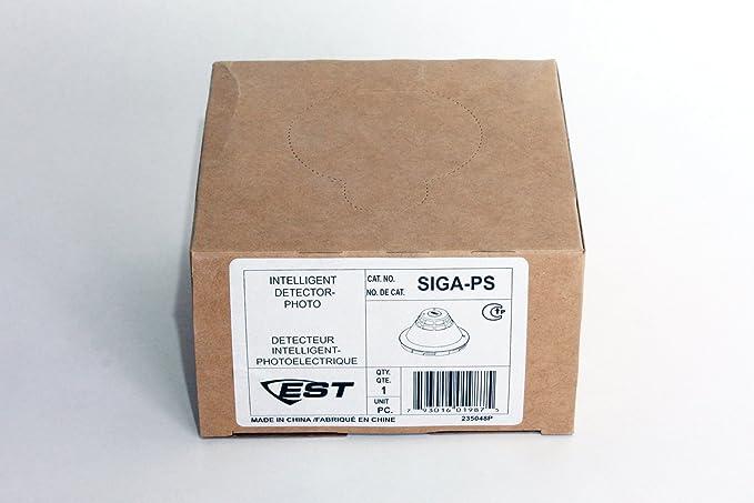 Edwards EST SIGA-PS Intelligent Photoelectric Smoke Detector - - Amazon.com