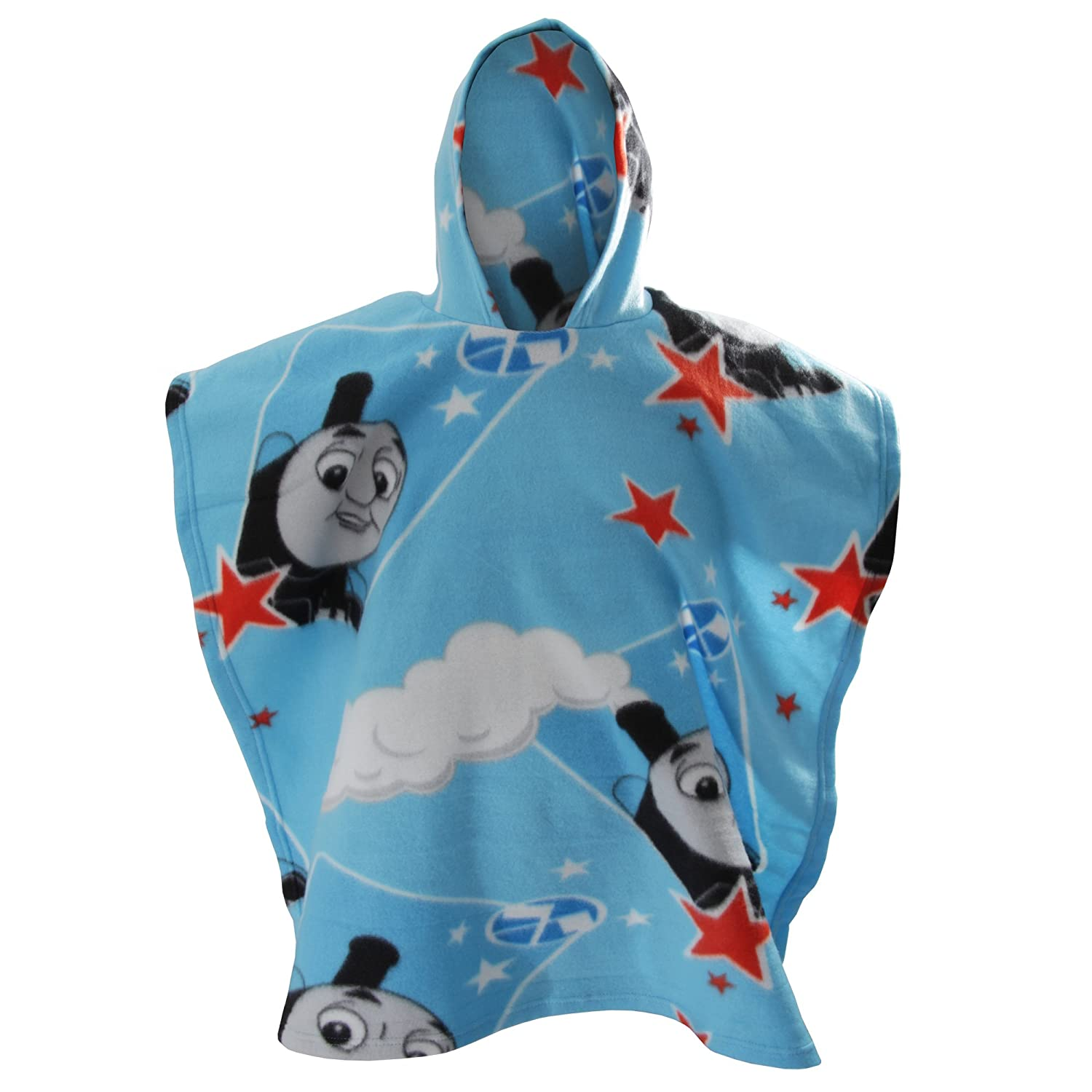 Thomas & Friends Childrens Boys Race Fleece Poncho (28in x 63in) (Blue) Thomas the Tank Engine UTMS326_1