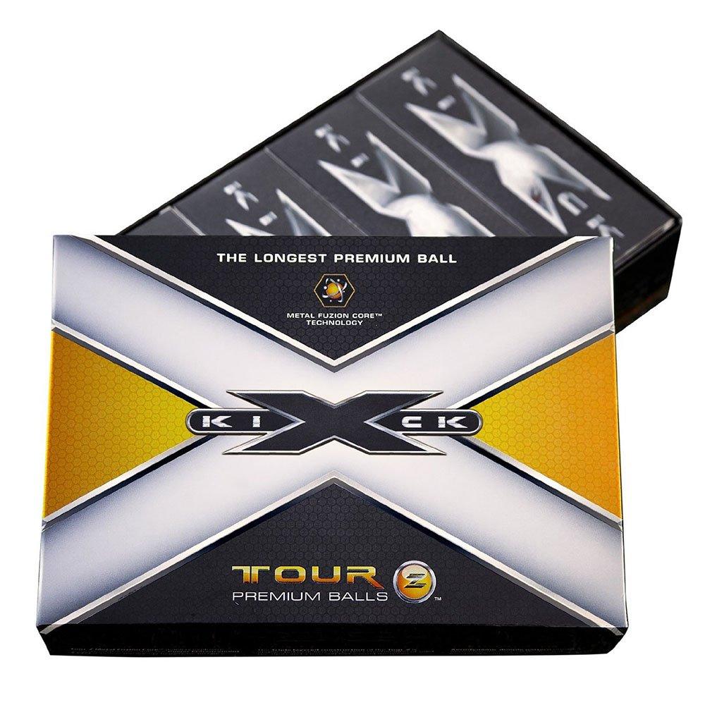 6 Dozen NEW Kick X Golf Tour Z Premium Golf Balls 72 Total - White