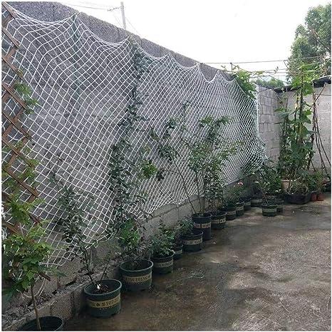 Malla de jardín YINUO Red de protección al aire libre Red de seguridad anticaída for niños Adecuado for barandilla de escalera de balcón Aislamiento de mascotas Decoración Escalada Hamaca Red de cuerd: