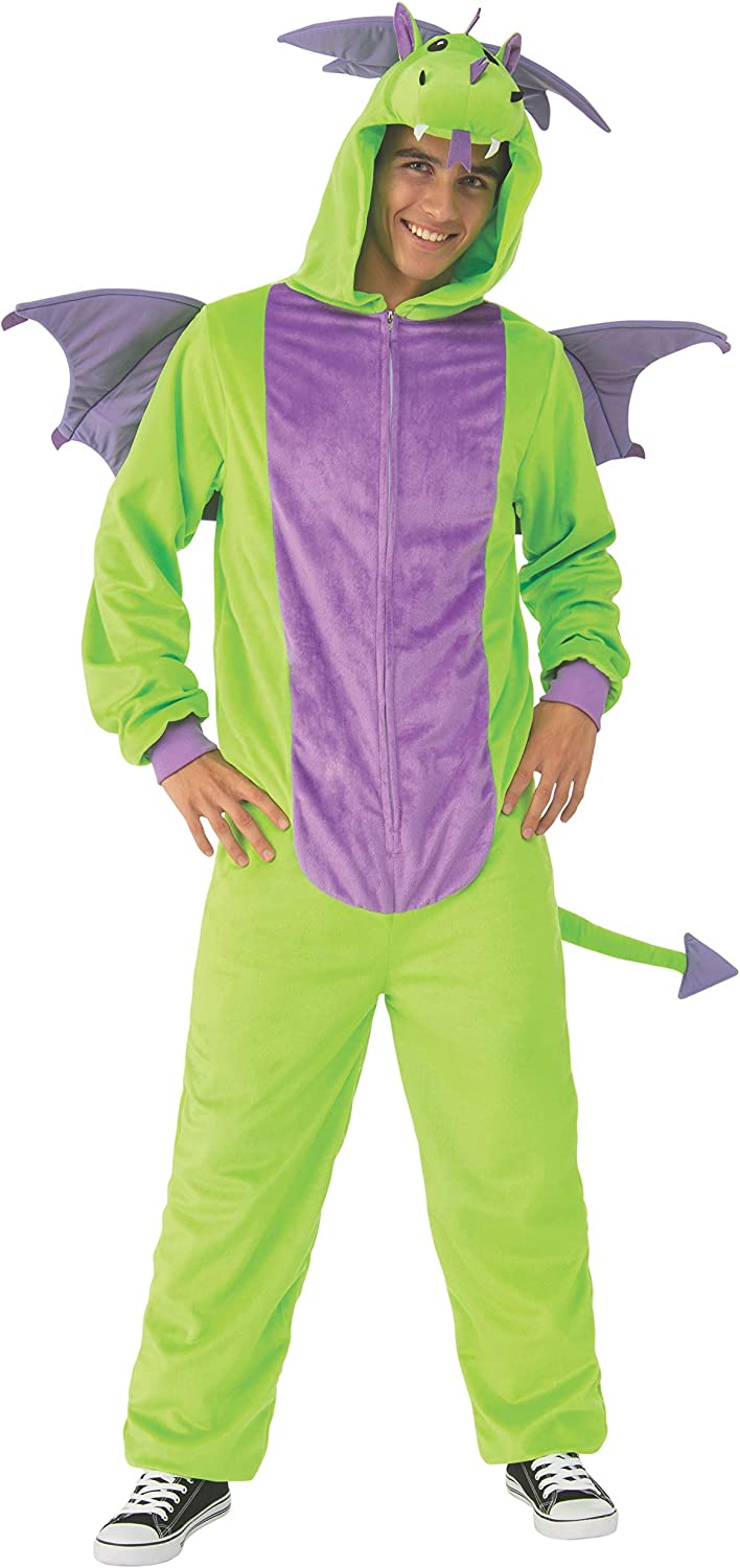 Rubies Unisex-Adults Opus Collection Comfy Wear Green Dragon Costume