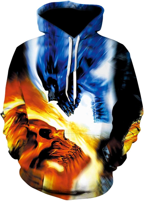 Men Custom Unisex Sweatshirt 3D Printed Pullovers Hoodies Plus Size Casual Hooded Sweatshirt,13,XL
