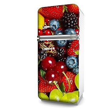 Kühlschrank-Folie Früchte selbstklebend mehrere größen | Sticker ...