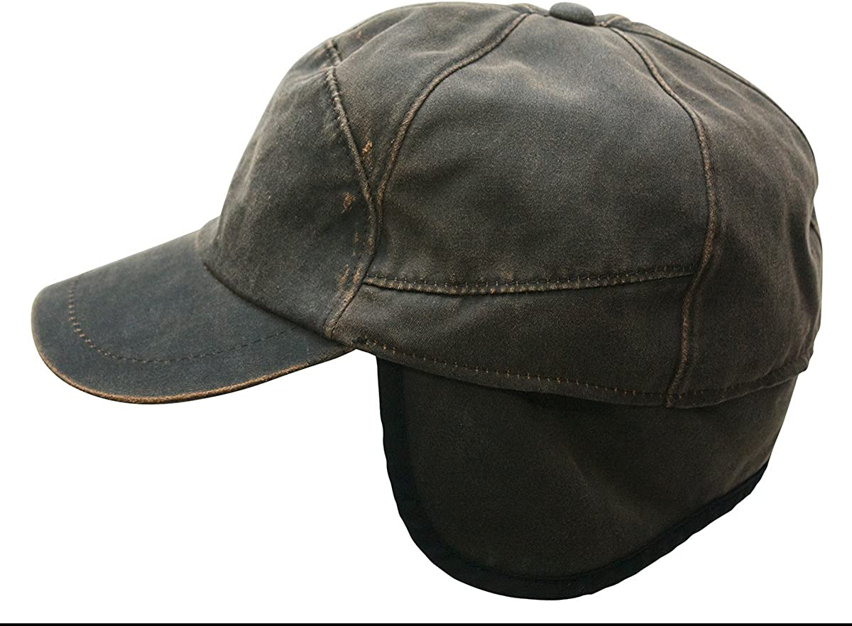 Brown Lexington Cozy Water Resistant Cap