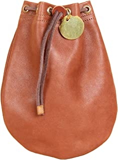 product image for Col. Littleton Full-Grain Leather Possibles Pouch | Made in USA | Medium/Brown