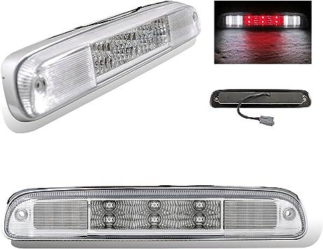 Ford F250 F350 F450 F550 Super Duty 99-14 Rear 3rd LED Stop Brake Light Black