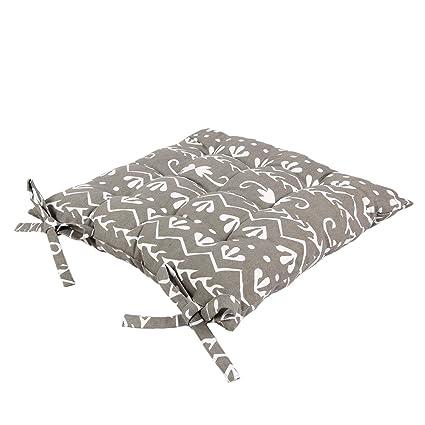 Icrafts 100% puro cotone da cucina sedile cuscino per sedia con ...