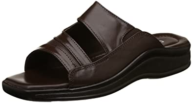 542033a20863 Coolers (from Liberty) Men s Brown Leather Hawaii House Slippers - 7  UK India