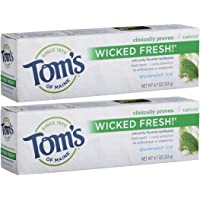 2-Pack Tom's of Maine Ice Wicked Fresh Paste, Spearmint, 4.7 Ounce