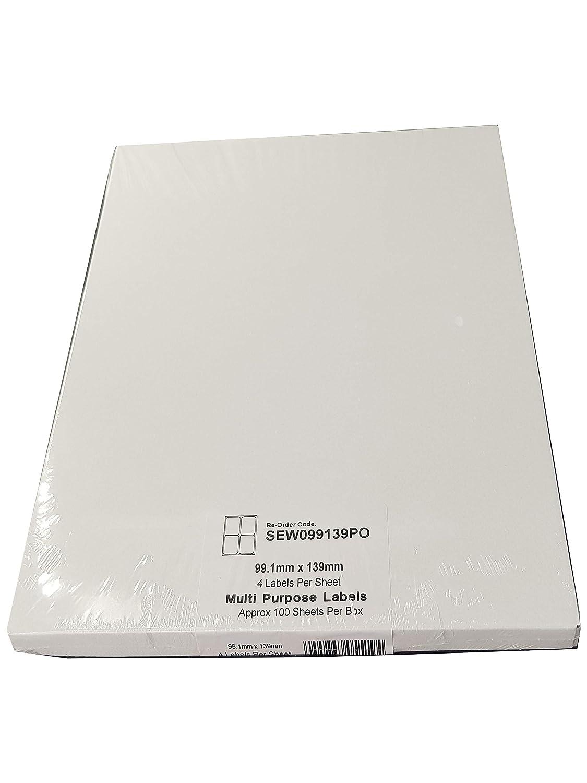 1000 Labels Total A4 Self Adhesive Address Mailing Printer Labels Printable Sticky Sheet Labels EJRange Labels 2 per Sheet Great Value 500 Sheets Compatible with Inkjet and Laser Printers