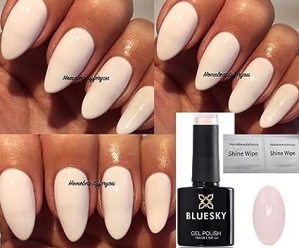 Bluesky , A92 , Vernis à ongles de couleur Coton rose clair , Gel à UV