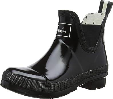 Women Short Wellies Wellington Boots Ankle Rain Snow Boots Chelsea Shoes Size5-8