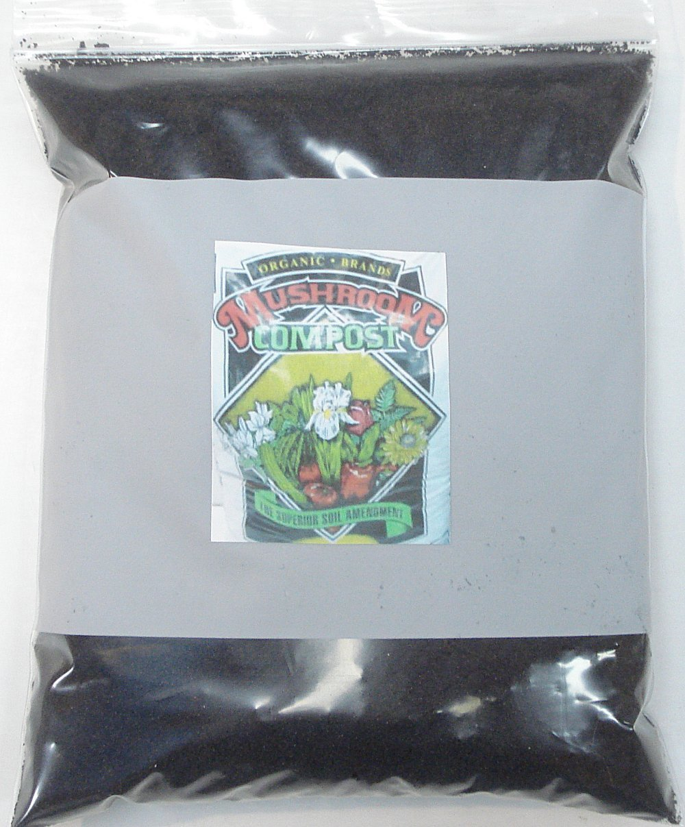 Mushroom Compost Organic Brands 5 pound bag