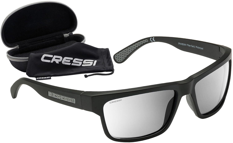 Cressi Ipanema Gafas de Sol, Unisex Adulto, Gris/Lentes espejados Plata, Talla Única: Amazon.es: Deportes y aire libre