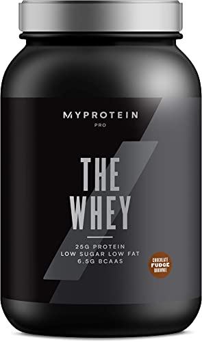 Myprotein The WHEY, Whey Protein for Building Muscle, Aminogen and DigeZyme, Low Fat Whey Powder, Whey Protein Hydrolysate, Low Carb Protein Powder, Tri Blend, Chocolate Fudge, 60 Servings