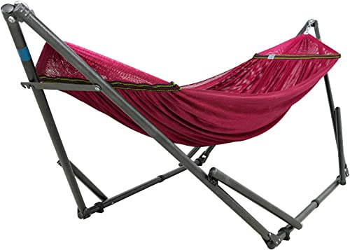 Tranquillo SSRS Hammock Stands, Steel – Red