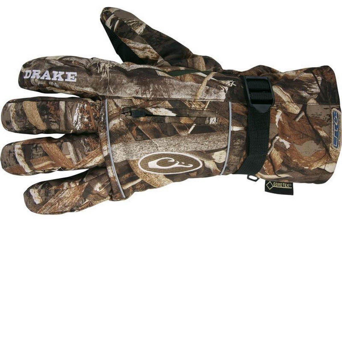 Drake Waterfowl Men's Lst Refuge Hs Gore-Tex Glove Realtree Max 5 (L)