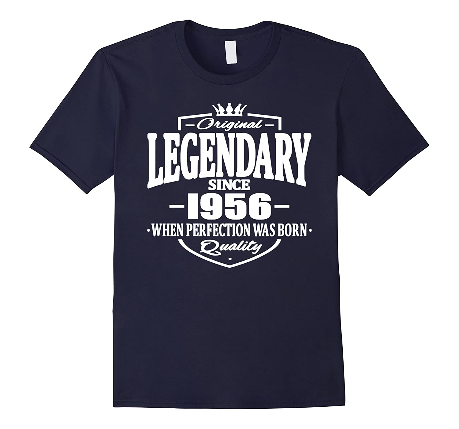 61 year old birthday gifts LIVING LEGEND SINCE 1956 T Shirt-TH