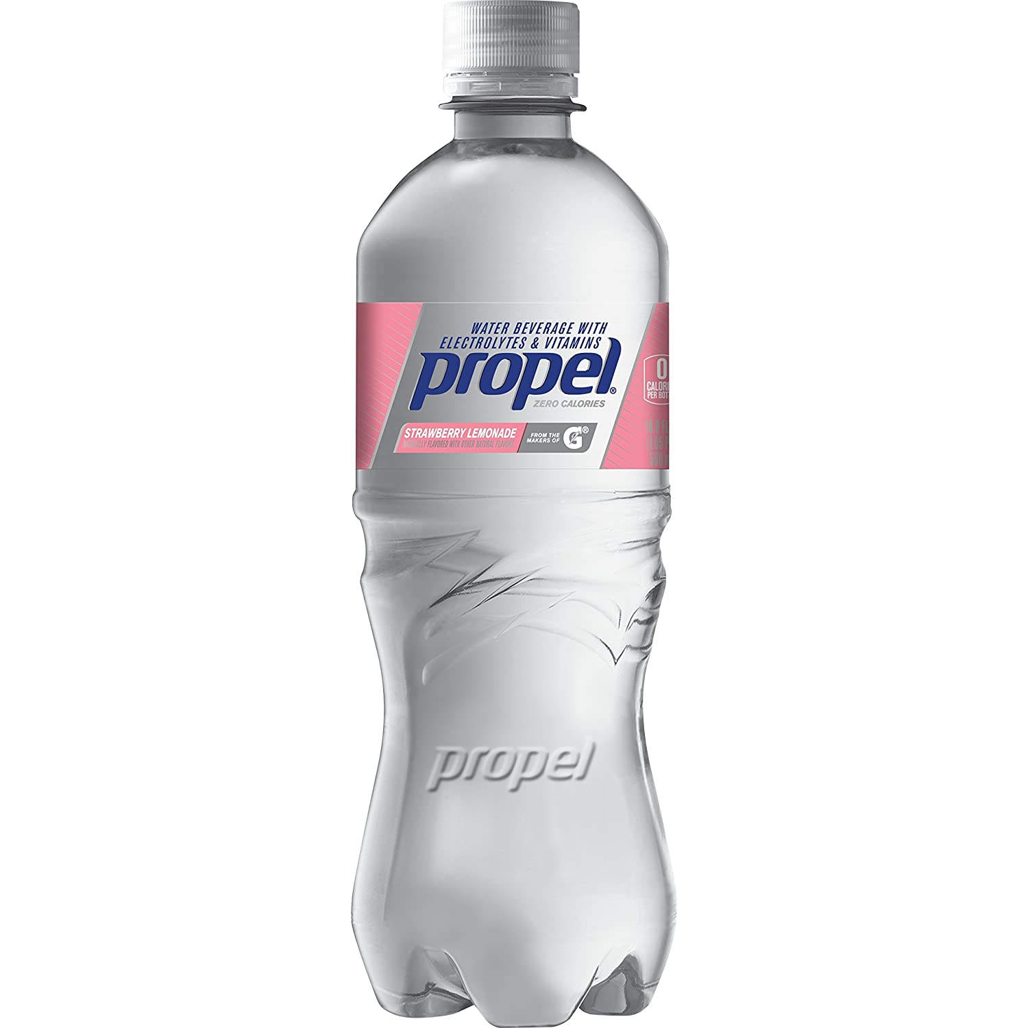 450c779509 Amazon.com: Propel Strawberry Lemonade, Zero Calorie Sports Drinking Water  with Antioxidant Vitamins C & E, 16.9 Ounce - Pack of 6: Prime Pantry