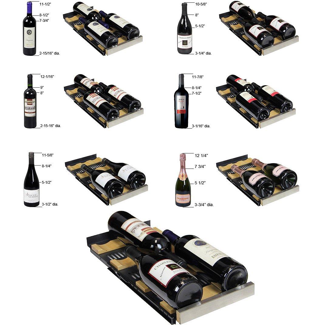 Allavino VSWR36-2BWFN Dual Zone Wine Refrigerator by Allavino
