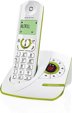Alcatel F370 Voice - Teléfono fijo digital inalámbrico, color blanco (importado): Amazon.es: Electrónica