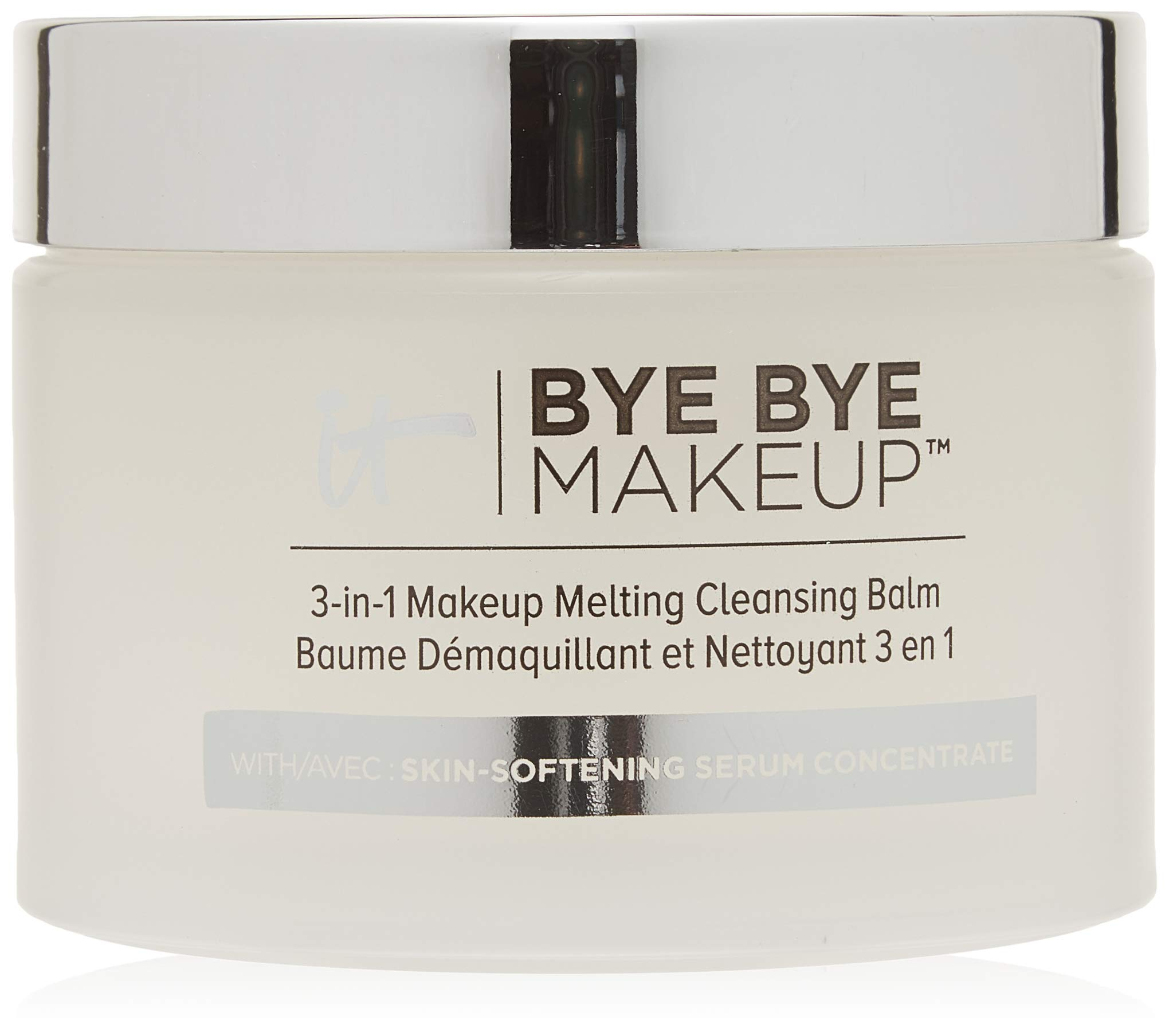 IT Cosmetics Bye Bye Makeup 3-in-1 Makeup Melting Cleansing Balm, 2.82 oz (80 g) by It Cosmetics