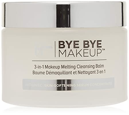 IT Cosmetics Bye Bye Makeup 3-in-1 Makeup Melting Cleansing Balm, 2.82 oz 80 g