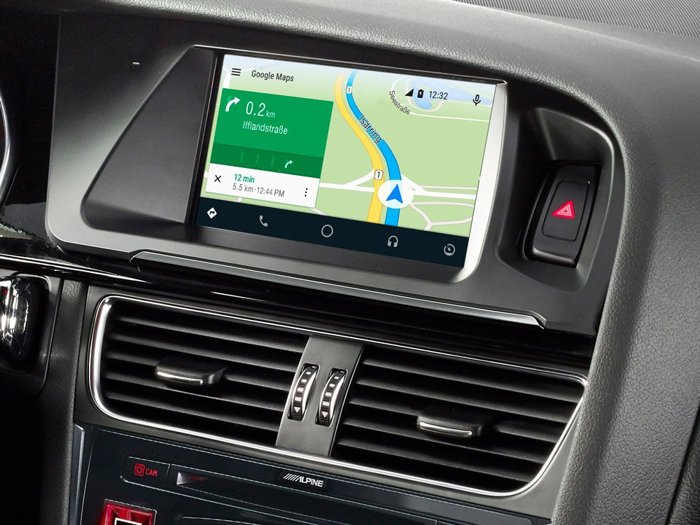 Amazon Com 7 Inch Touch Screen Navigation For Audi A5 With Tomtom