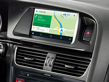 Amazon com: 7-inch Touch Screen Navigation for Audi A5 with TomTom