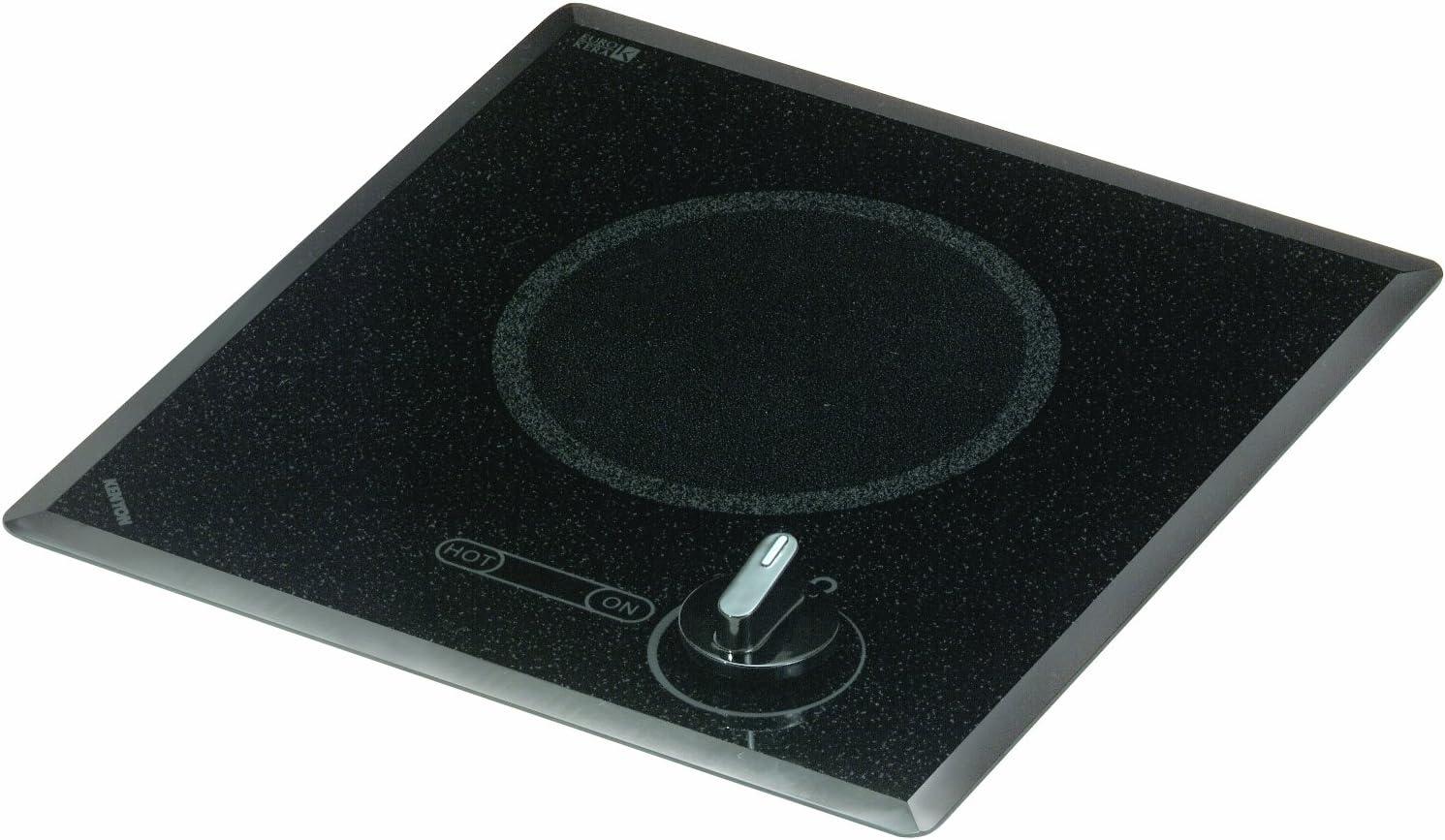 B0011YNIHG Kenyon B41517 6-1/2-Inch Mediterranean Single Burner Cooktop with Analog Control UL, 120-volt, Black 71JY8f9yw8L.SL1500_