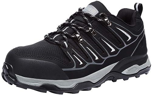 Amazon.com: LARNMERN - Zapatos de acero para hombre, tira ...